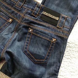 Vintage Roberto Cavalli Dark Denim Boot Cut Jeans